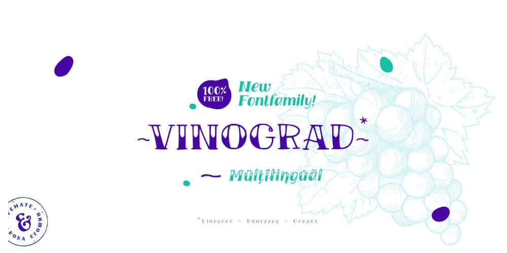 TM Vinograd Font