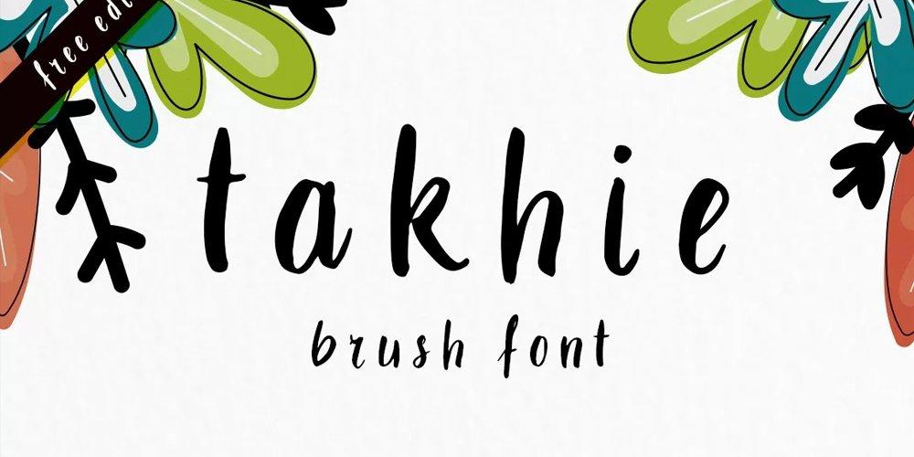Takhie Font