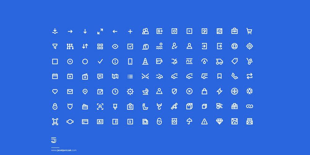 UI Pixel Perfect Icons