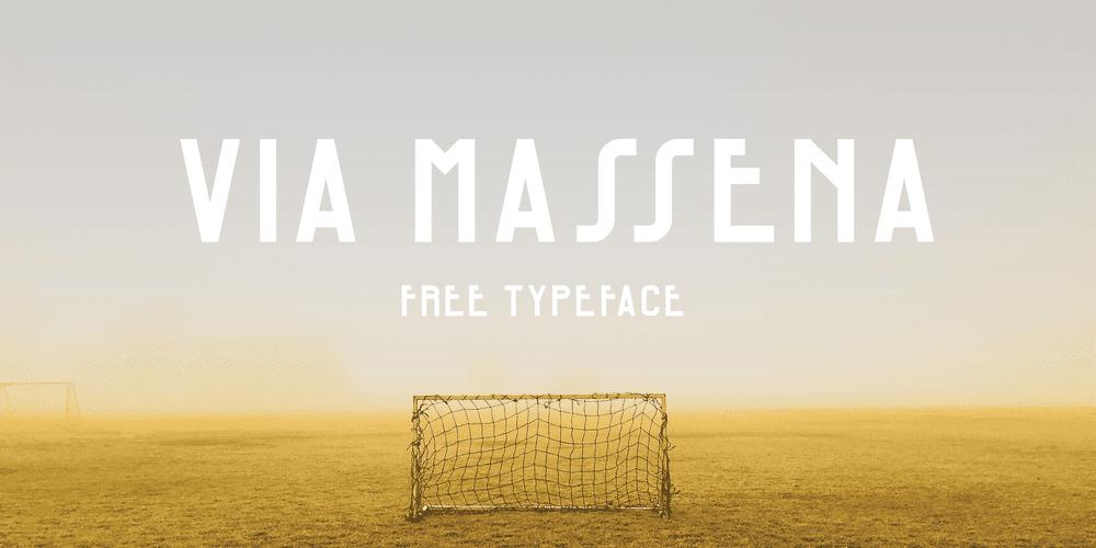Via Massena Typeface