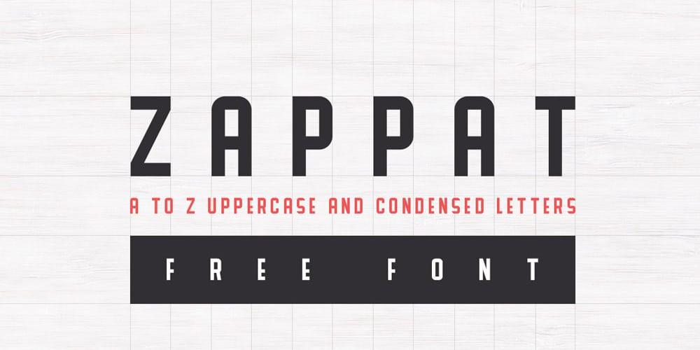 Zappat Font