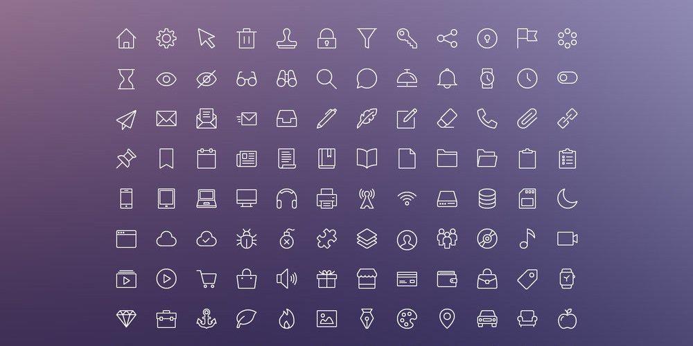 iOS Edge Icons
