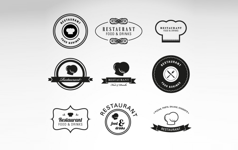 Chef Hats Logos