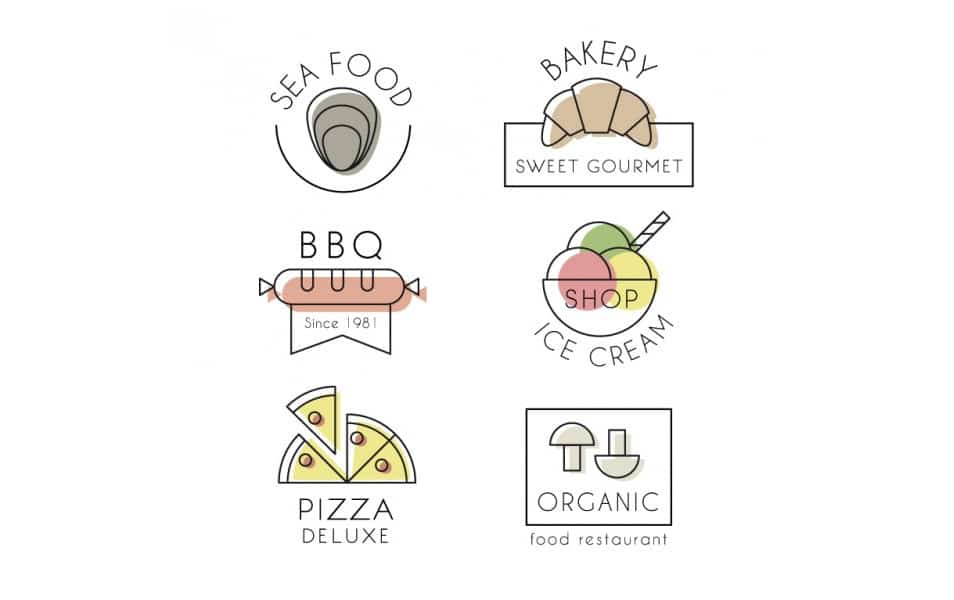 Elegant Restaurant Logo Collection