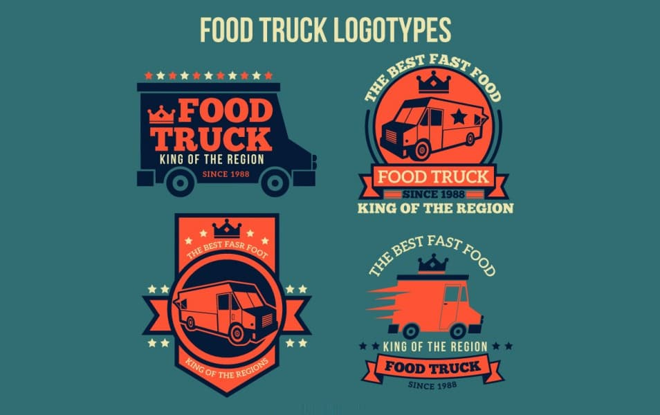 Food Truck Logotypes Design