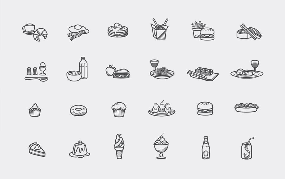 Free Foody Icons