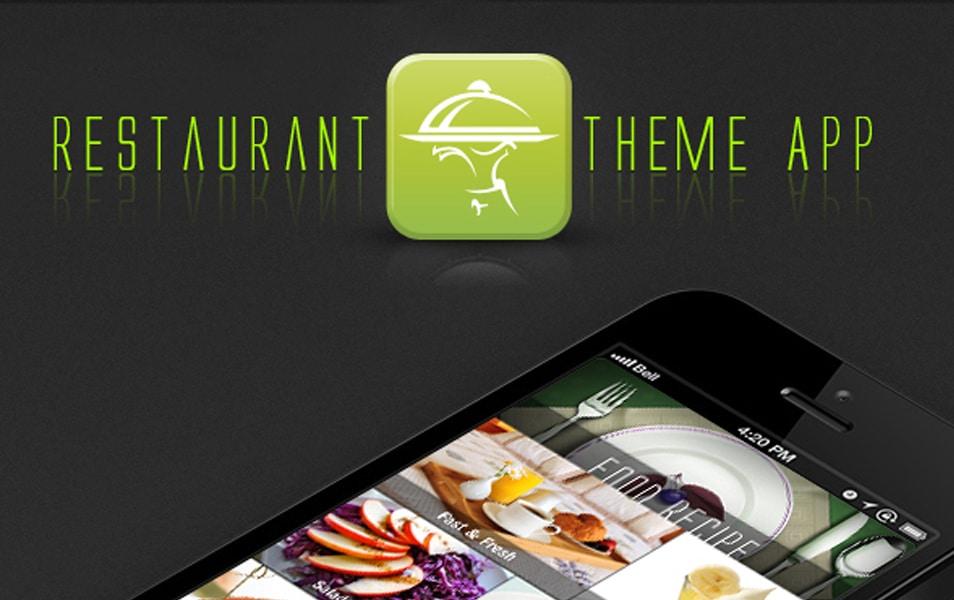 Free Menu App Restaurant PSD