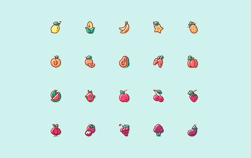 Fruit & Vegetable Icon