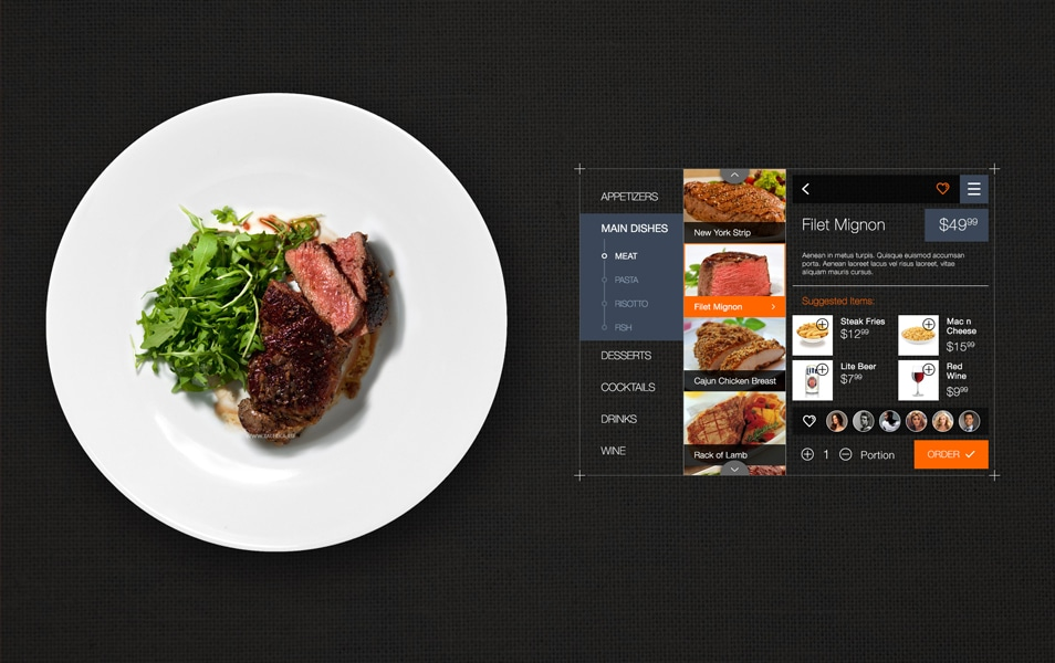 Restaurant Order Interface