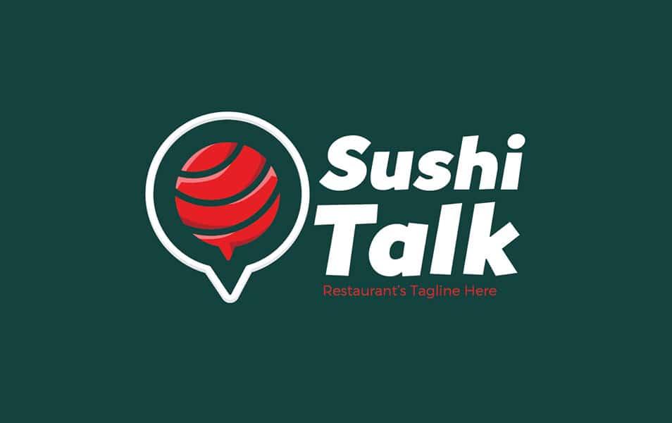 Sushi Talk Logo