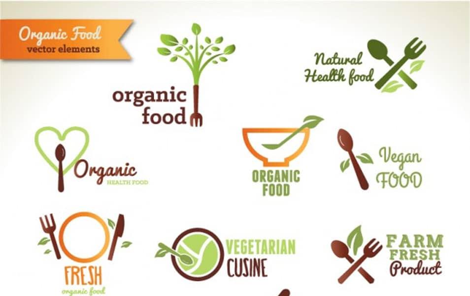 organic food logos