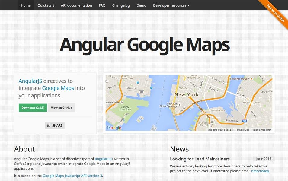نقشه زاویه گوگل