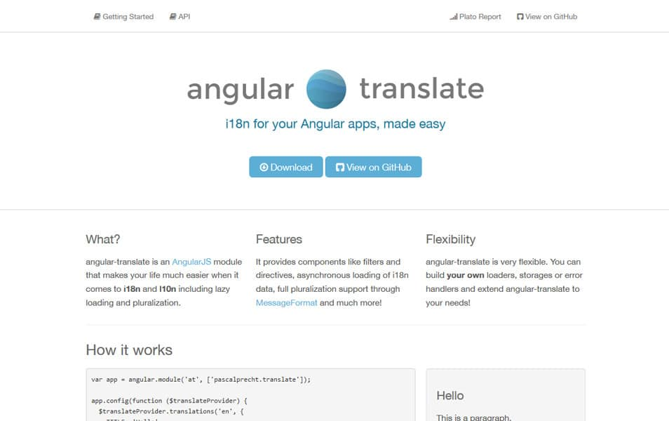 Angular Translate