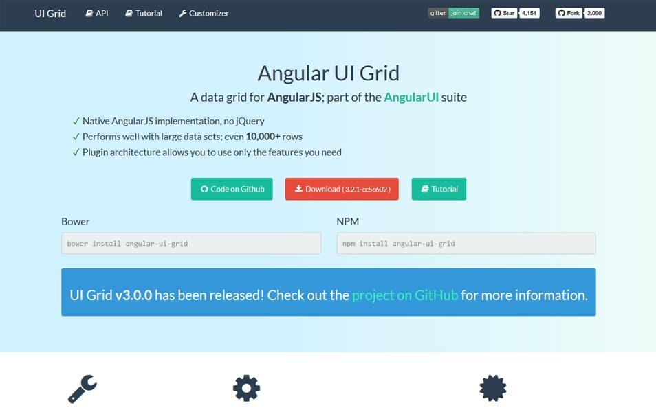 UI Grid