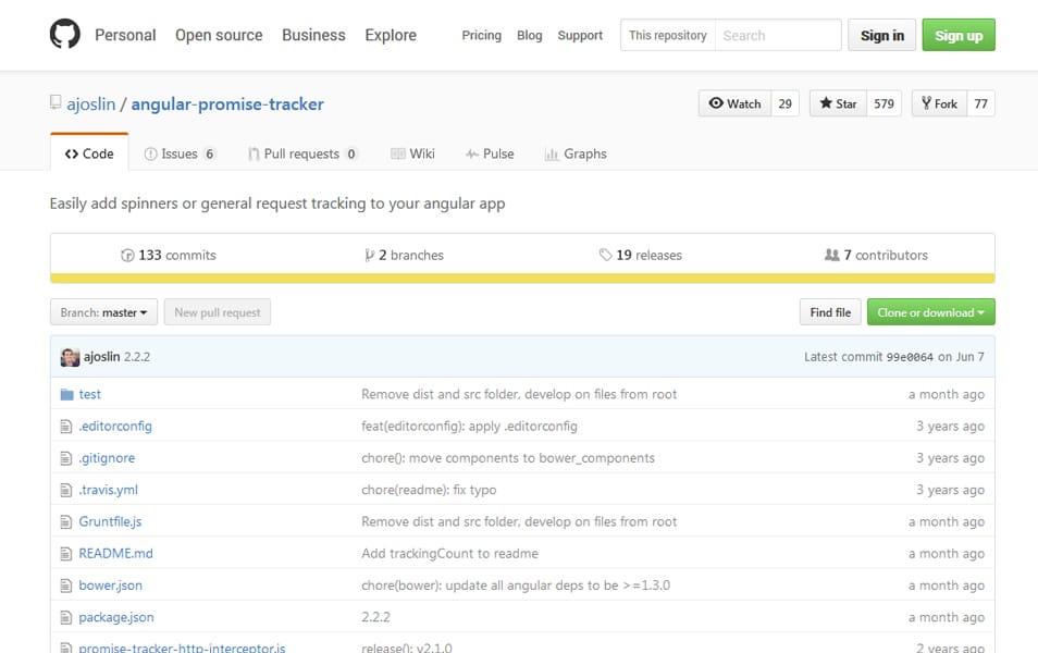 angular-promise-tracker