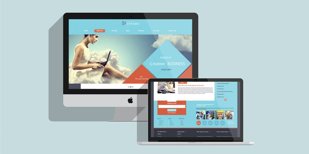 Sitekafe Business Template PSD