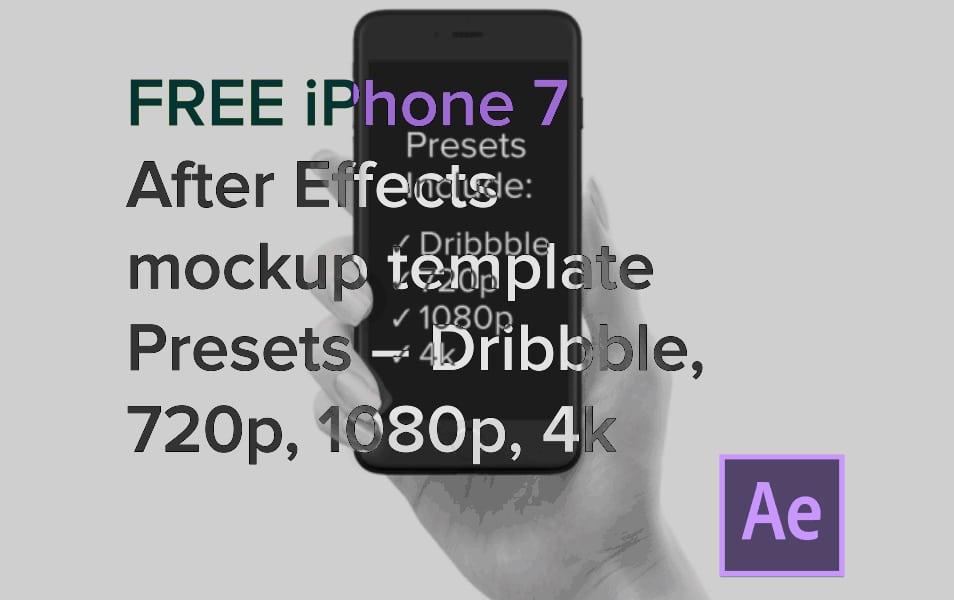 50 iphone 7 mockup designs css author. Black Bedroom Furniture Sets. Home Design Ideas