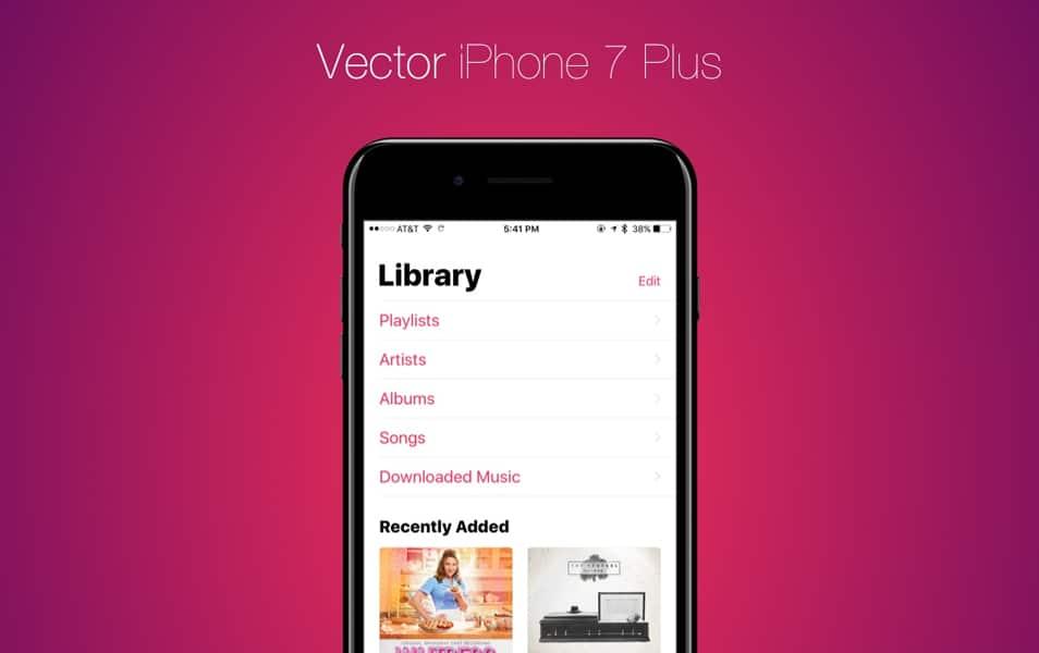 Vector iPhone 7 Plus