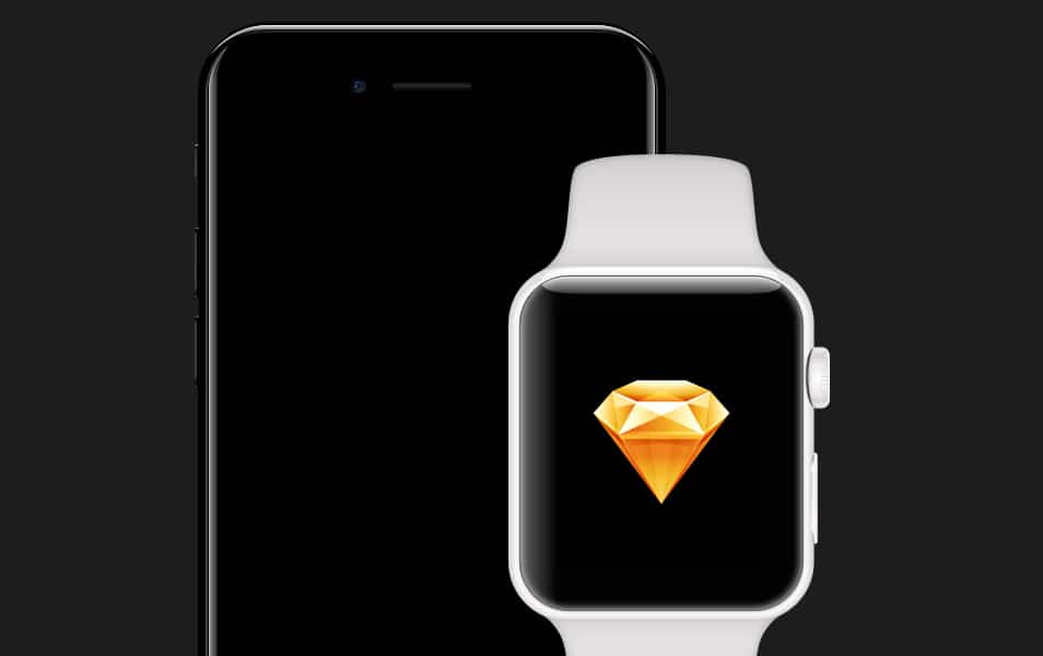 iPhone 7 & Apple WATCH Series 2 for Sketch
