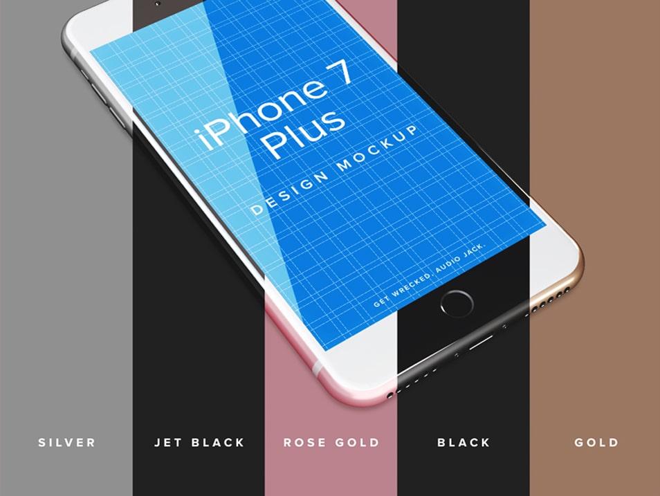 iPhone 7 Plus Design Mockup