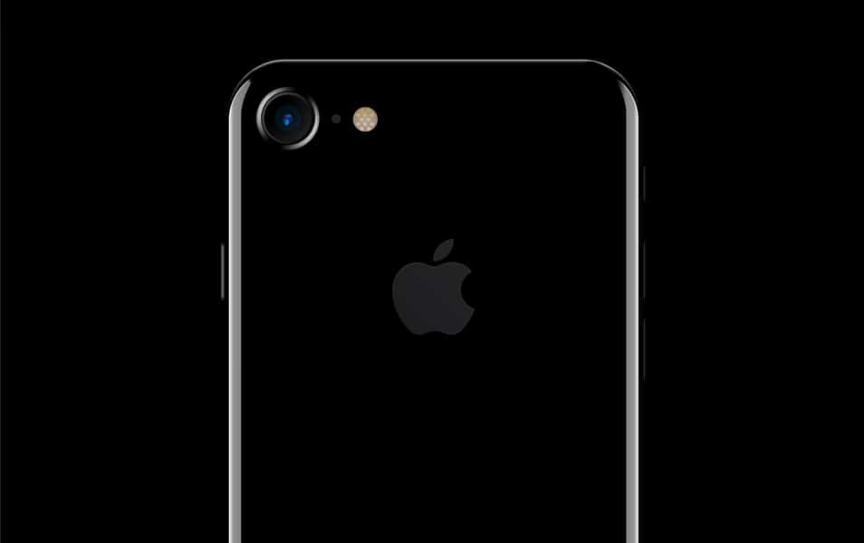 iPhone 7 closeup - Scalable PSD