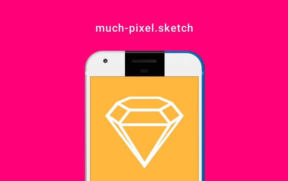 Google Pixel Sketch Mockup