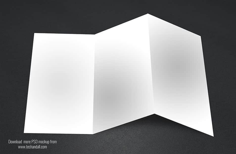 3 Tri-Fold Mockup