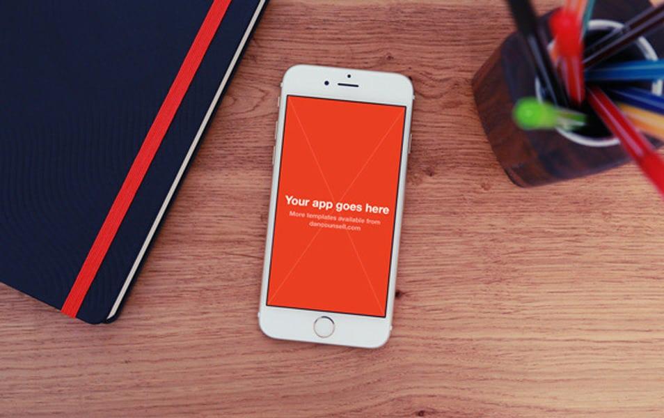 4 iPhone 6 Photo MockUps