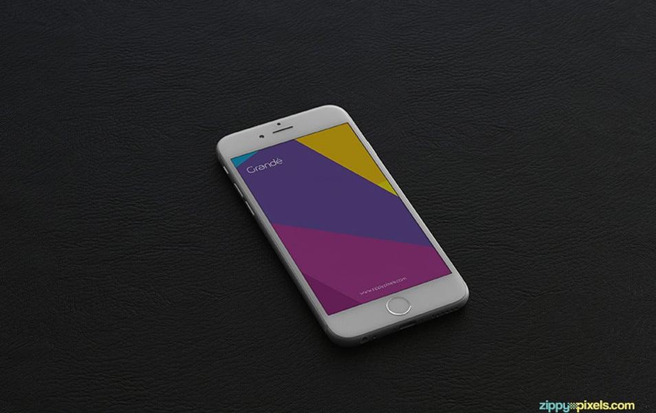 5 Free iPhone 6 Photorealistic PSD Mockups
