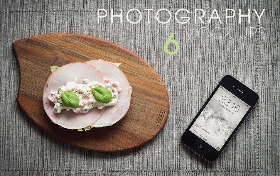 6 iPhone Photography Mock-Ups