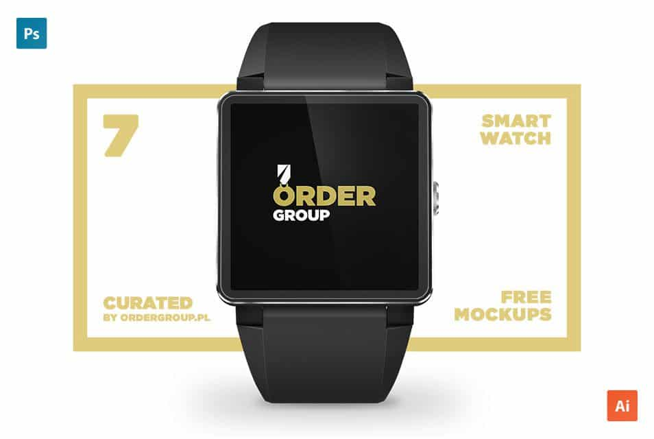 7 curated smartwatch mockups