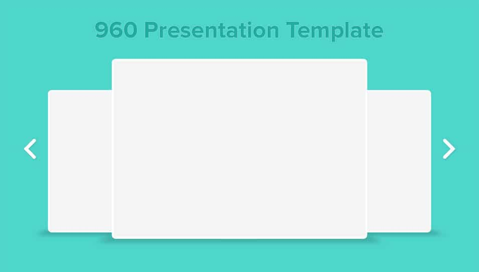 960 Presentation Template