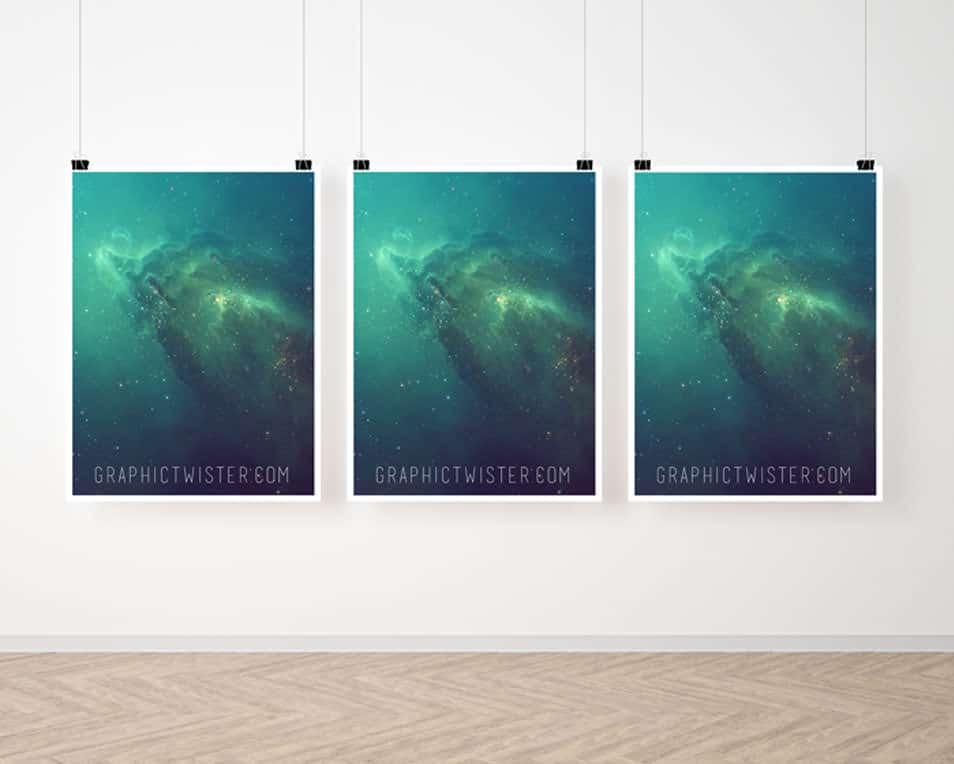 Best Poster Frame Mockup