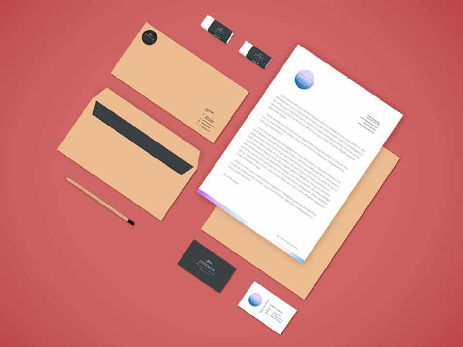 Branding-Stationery Mockup Vol.4