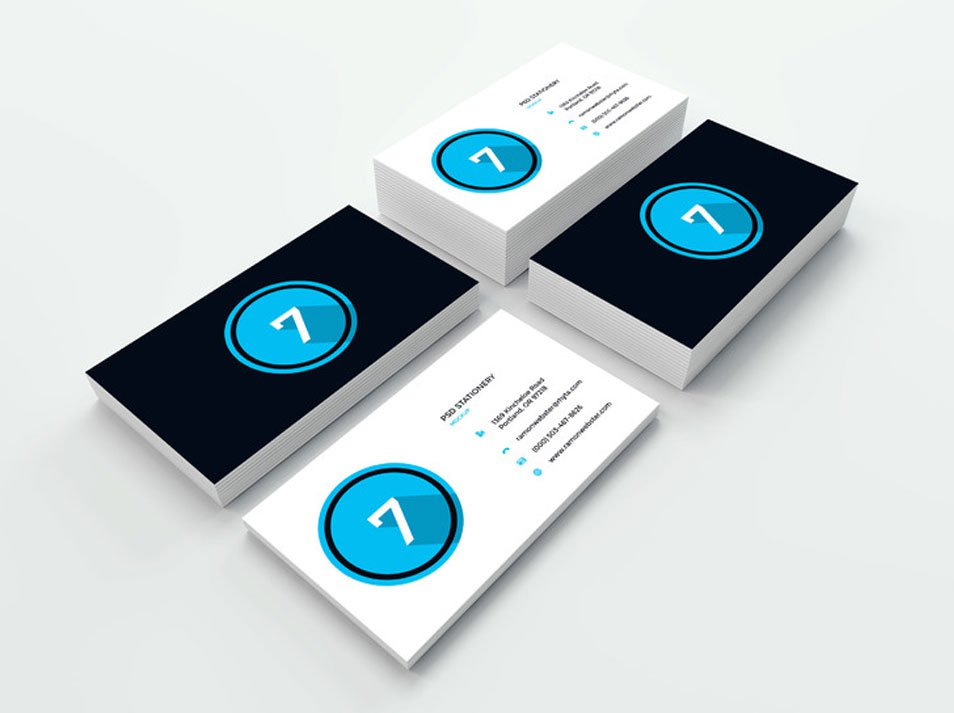 Business Card Mockup Vol.11