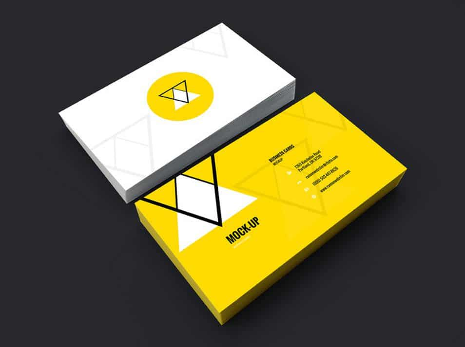 Business Card Mockup Vol.7