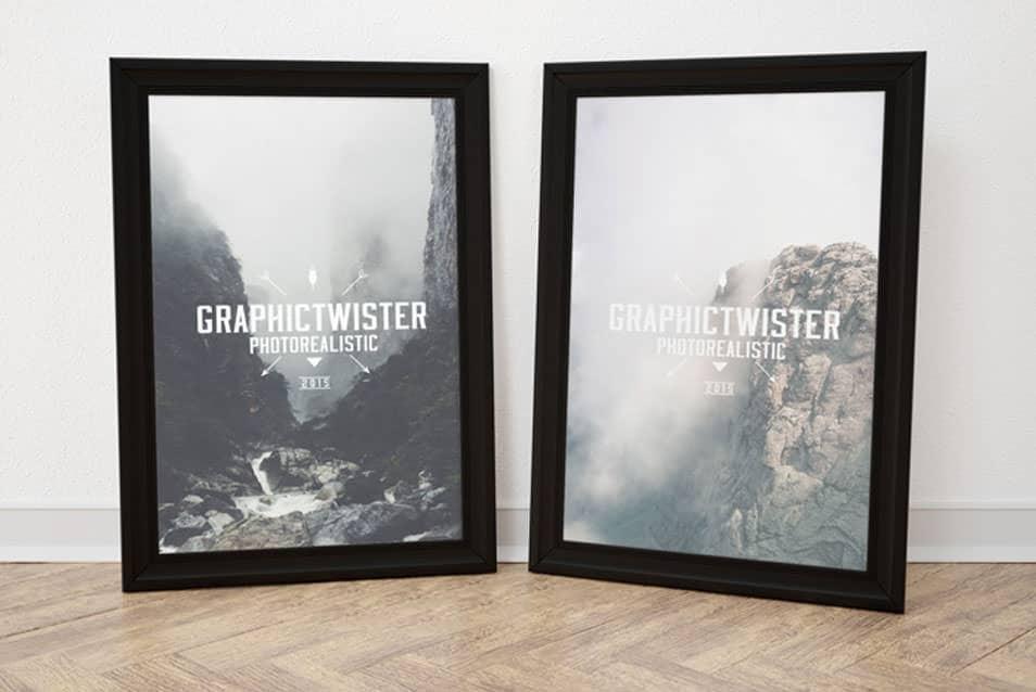 Double Black Image Frame