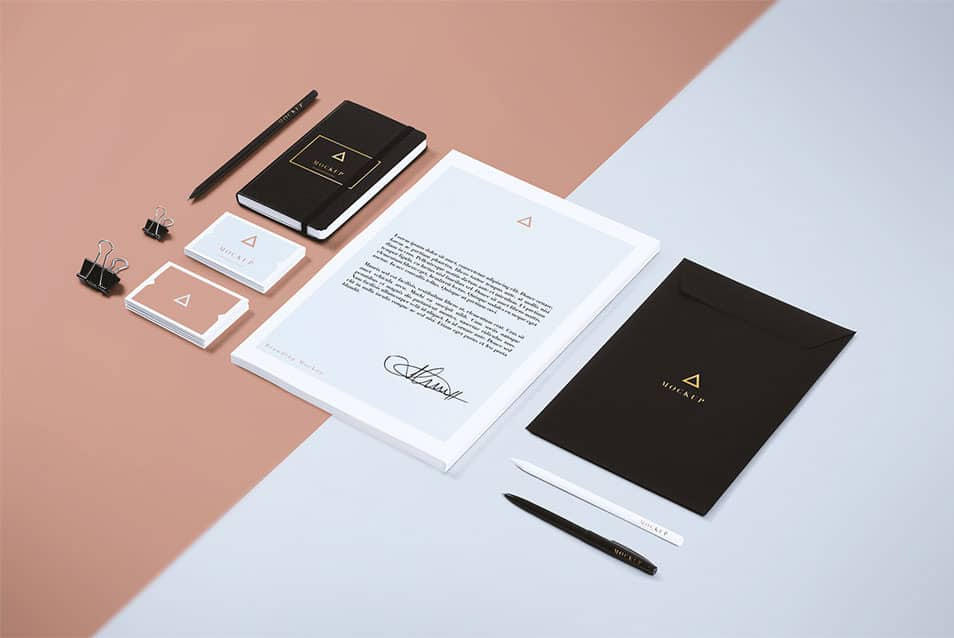 Free Branding / Stationery Mock Up 05