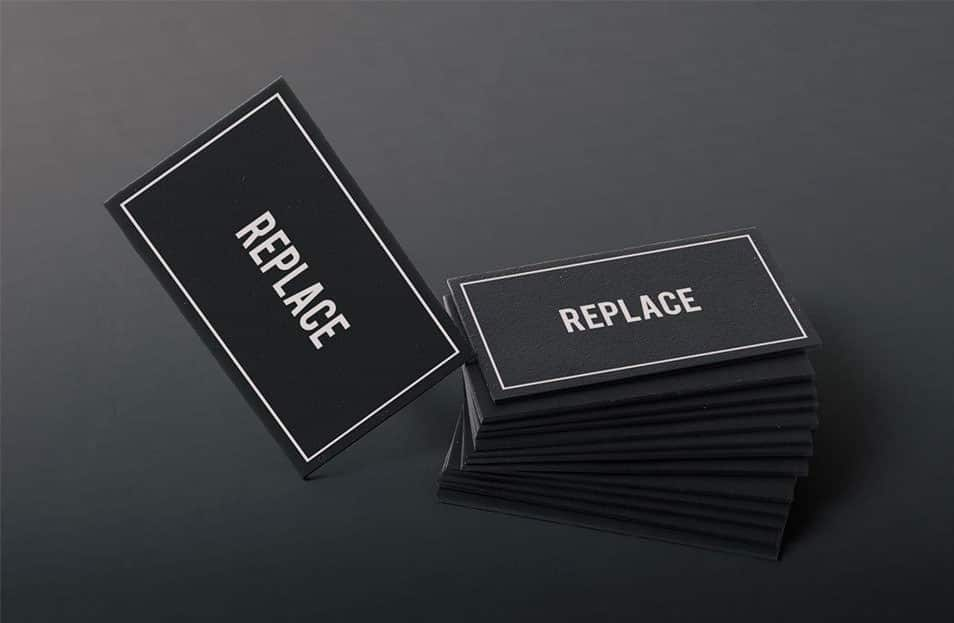 Free Business Card Mock Up 01