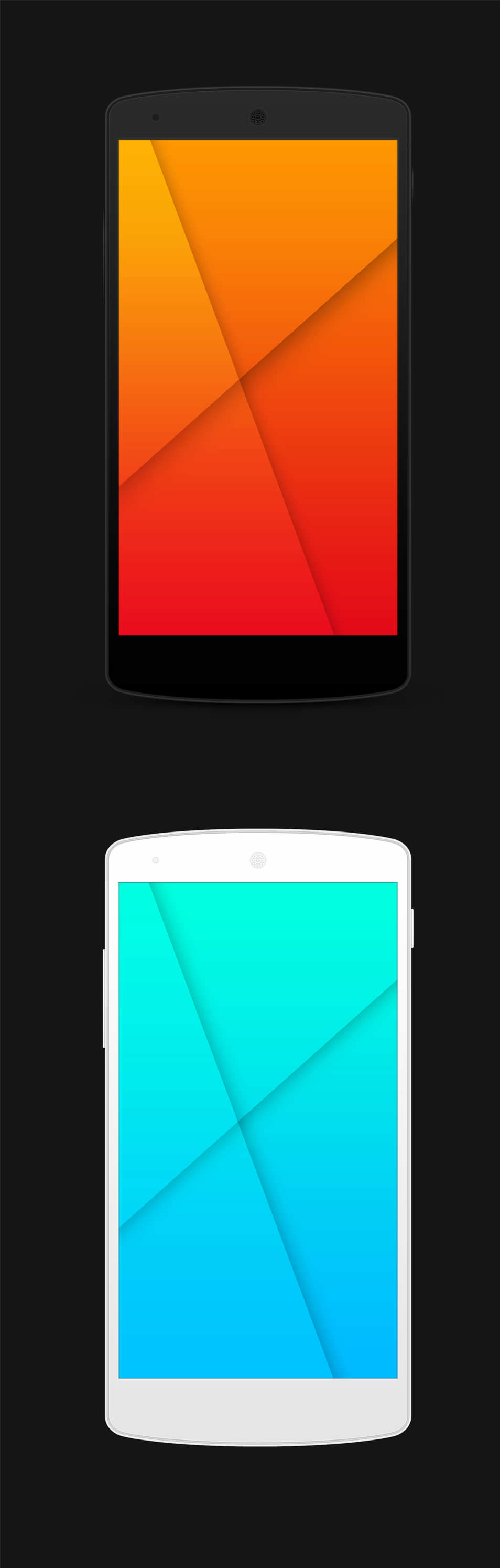 Free & Open Source Nexus 5 PSD Templates