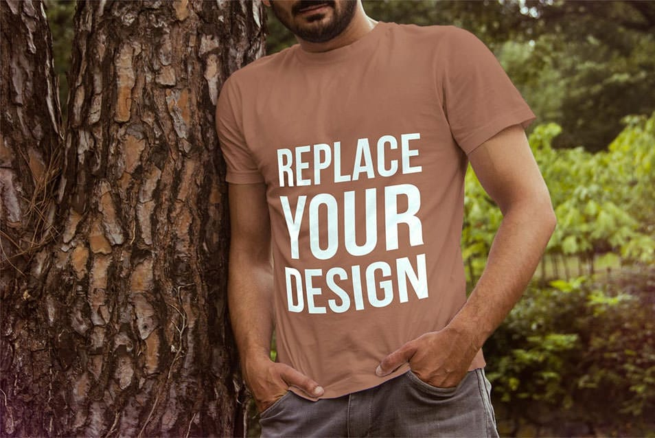 Free T-Shirt Mock Up 02