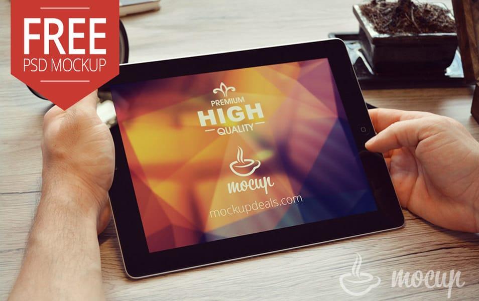 Free iPad Mockup Nottingham