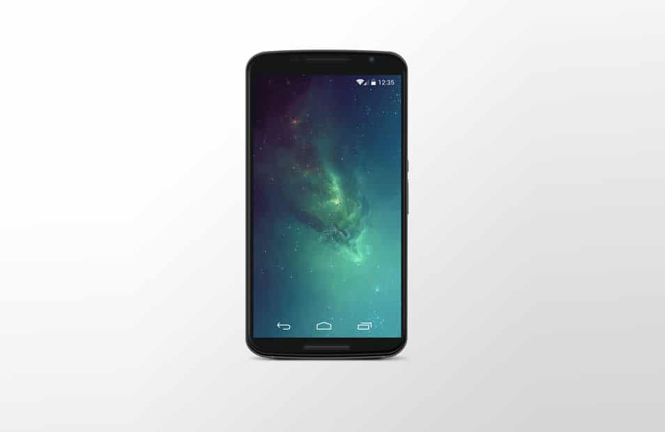 Google Nexus 6 PSD Mock-Up