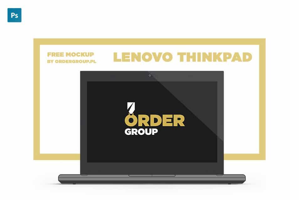 Lenovo ThinkPad Free Mockup