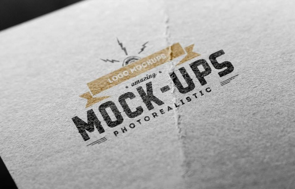 Logo Mock-Up / Paper Edition 2