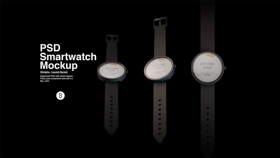 PSD Smartwatch Mockup