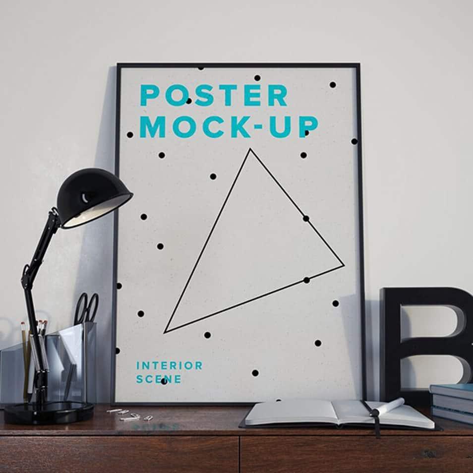 Poster MockUp PSD