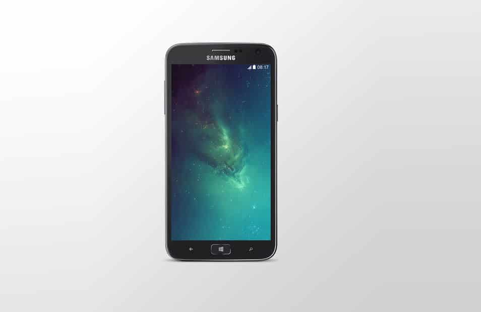 Samsung ATIV S PSD Mock-Up