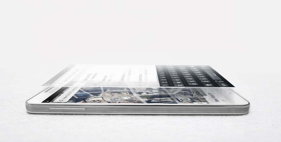Samsung Note 3 Mock-up