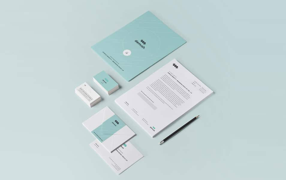 Stationery Branding Mock Up Vol 1-2